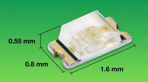 Topled E1608 - nowa generacja diod LED