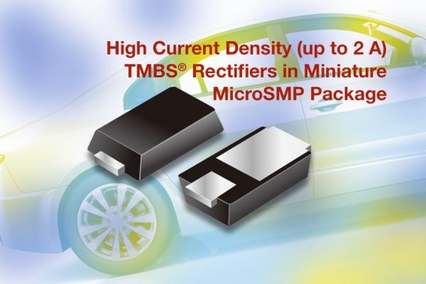 TMBS - diody prostownicze o napięciu przewodzenia od 0,36 V