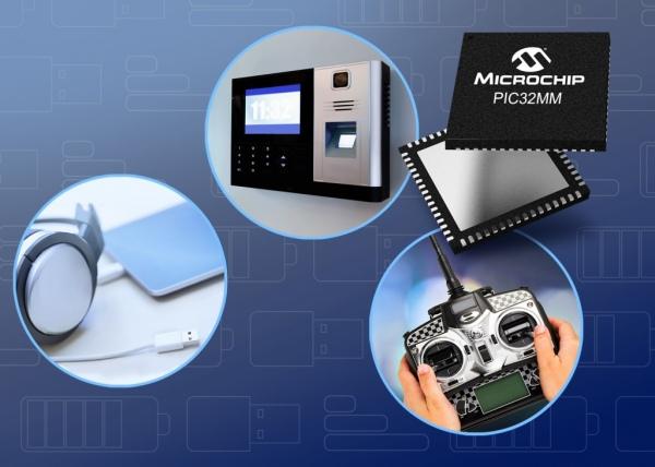 """PIC32MM """"GPM"""" – energooszczędne mikrokontrolery z 256 kB Flash i USB OTG"""