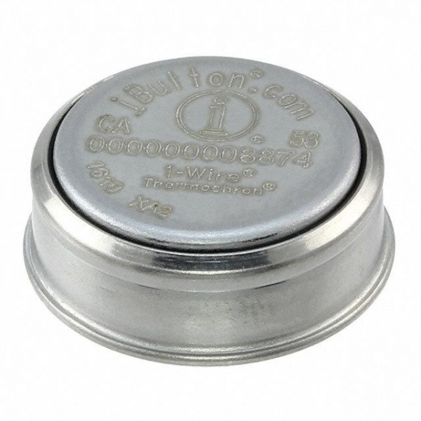DS1925 – rejestrator temperatury z serii iButton