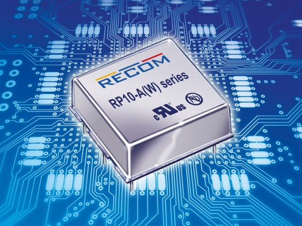 RP10-A i RP-10AW – przetwornice o szerokim zakresie napięcia wejściowego
