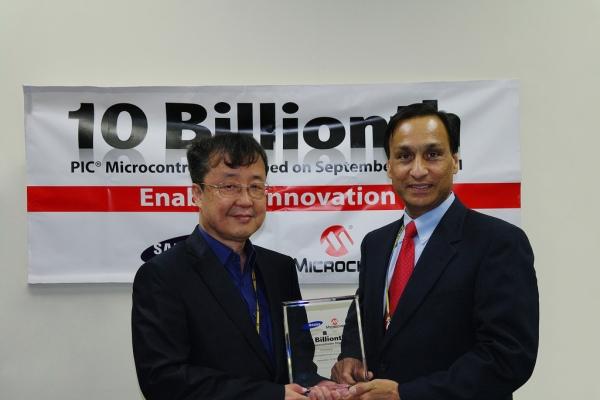Microchip dostarczył na rynek 10-miliardowy mikrokontroler PIC