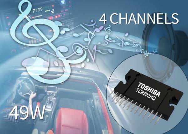 TCB502HQ – wzmacniacz audio 4×49 W