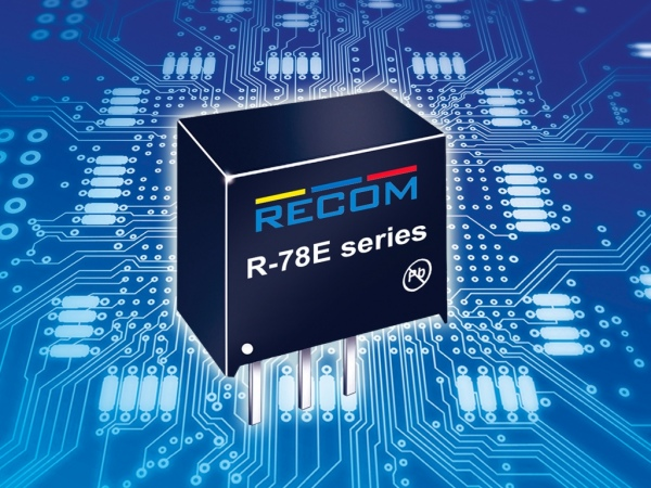 R-78E –seria tanich modułów impulsowych regulatorów napięcia