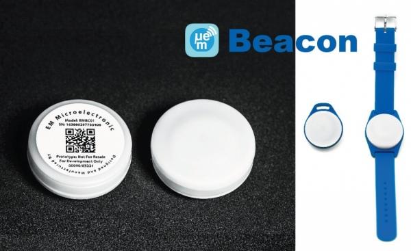 Energooszczędny beacon Bluetooth Smart z wbudowanym akcelerometrem