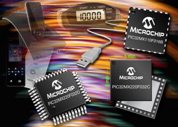 Najmniejsze i najtańsze mikrokontrolery PIC32