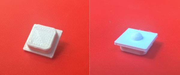 Druk 3D dla elektroników. Pierwszy projekt - przycisk