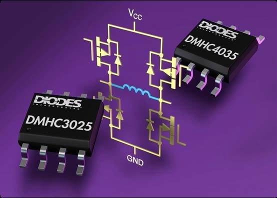Miniaturowe mostki tranzystorowe MOSFET w obudowach SO-8
