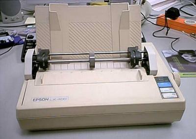 Dołączenie drukarki do mikrokontrolera z  rodziny 8051
