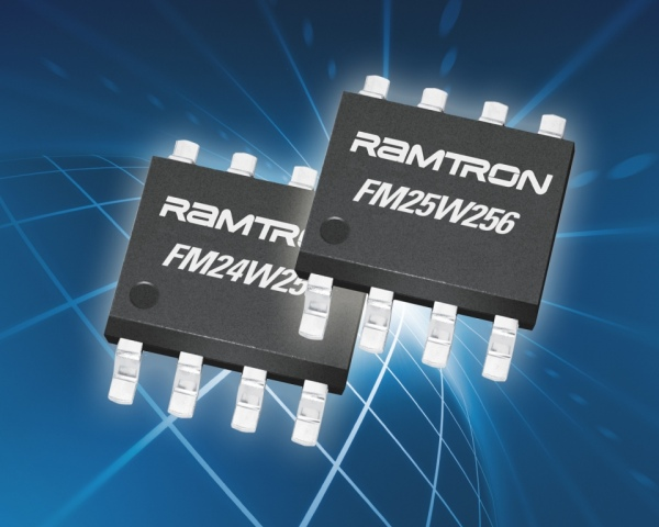 Szeregowe i równoległe pamięci F-RAM o napięciu zasilania 2,7…5,5V