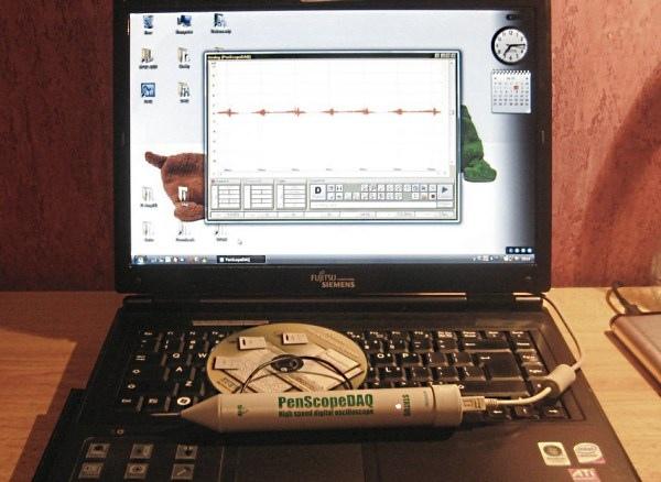 PenScope DAQ. Szybka, miniaturowa przystawka oscyloskopowa USB