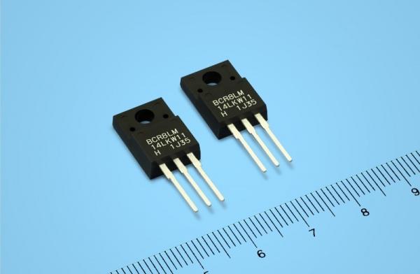 Triak 700 V/8 A z możliwością sterowania bezpośrednio z wyjść mikrokontrolerów