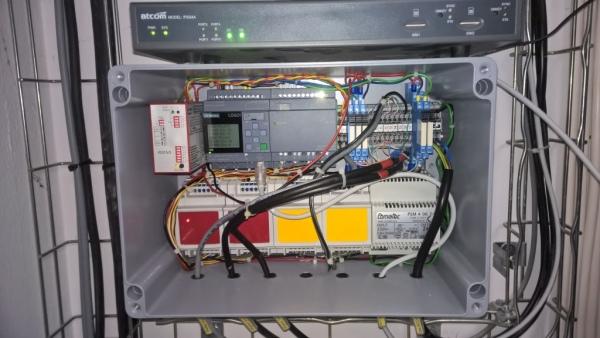 Współpraca LOGO! z urządzeniem zewnętrznym - interfejs RS232