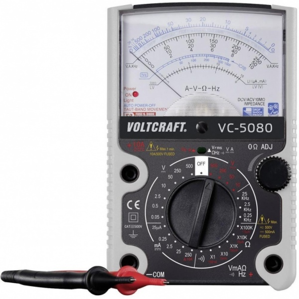 Multimetr analogowy Voltcraft VC-5080