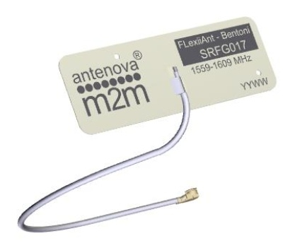 Elastyczne anteny FPC na pasma 2,4 GHz i 1559…1609 MHz
