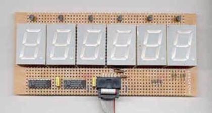 Język C dla mikrokontrolerów 8051. Moduł 6-cyfrowego wyświetlacza LED.