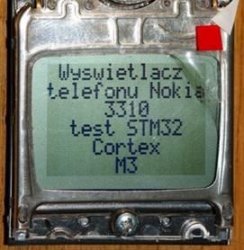 Obsługa wyświetlacza graficznego Nokii 3310. Problemy i ich rozwiązania