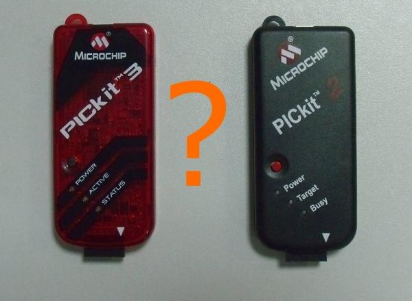 PICkit-2 czy PICkit-3? Podobieństwa i różnice
