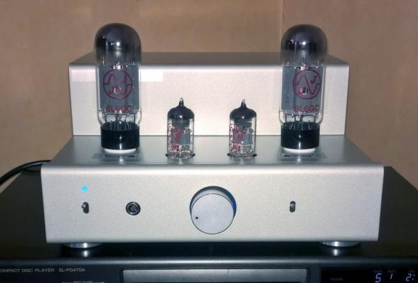 Zestaw do budowy stereofonicznego wzmacniacza lampowego TU-8200