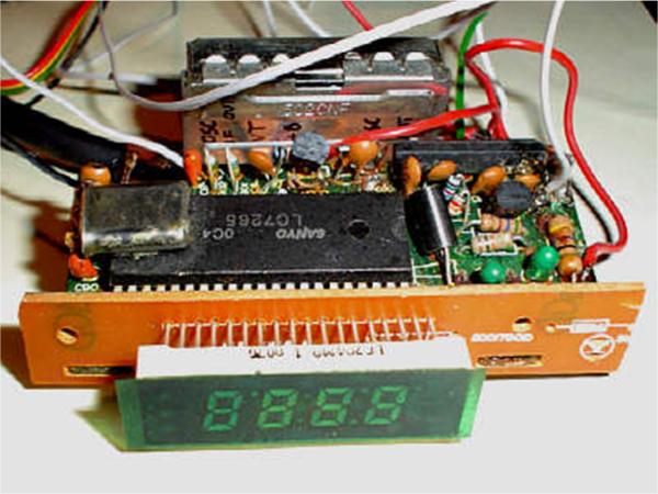 Sterownik układu syntetyzera częstotliwości SAA1057